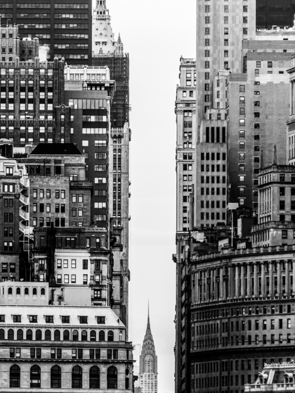 Manhattan Stacked Buildings