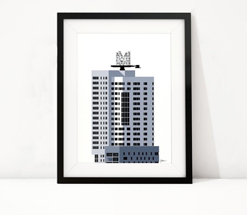 Nieuwe art prints: New Orleans & Montevideo