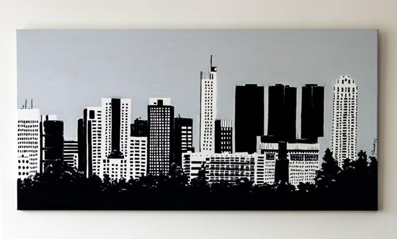 Skyline Rotterdam: vanaf Zestienhoven