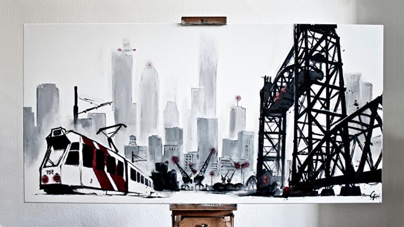 Skyline Rotterdam: De Hef