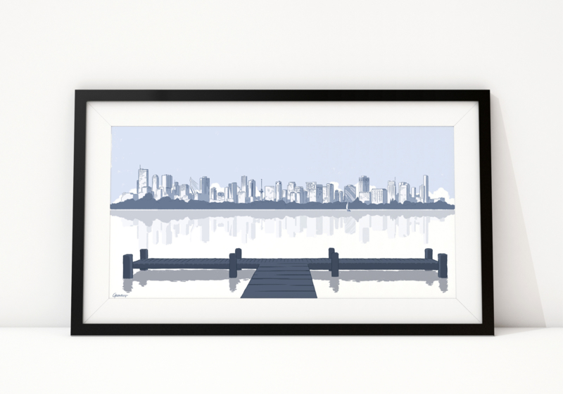 Skyline Rotterdam: Kralingse Plas