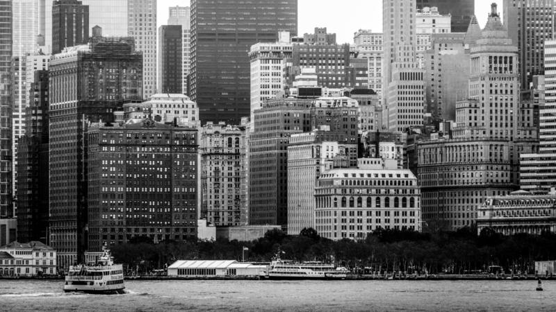 Down Town Riverfront Manhattan