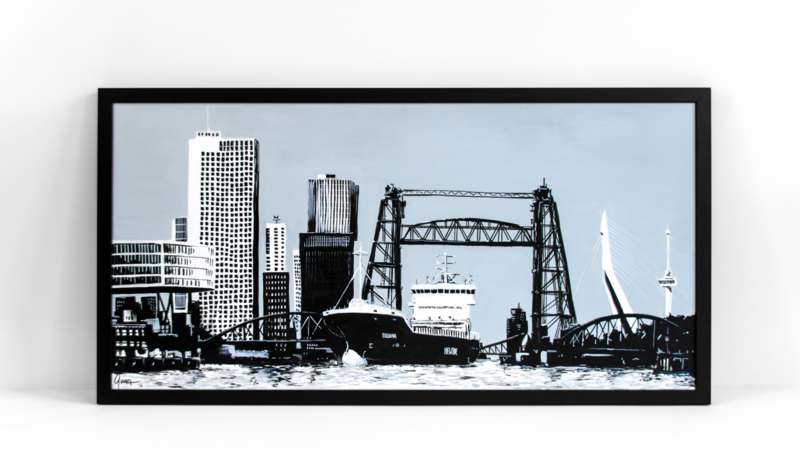 Rotterdamse iconen: Vrachtschip & de Hef