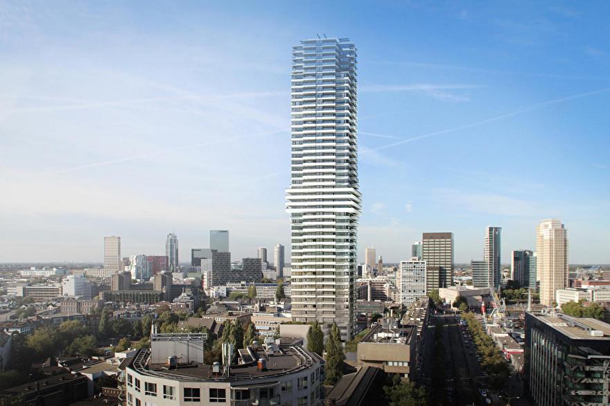 Toekomst van de skyline van Rotterdam: CoolTower