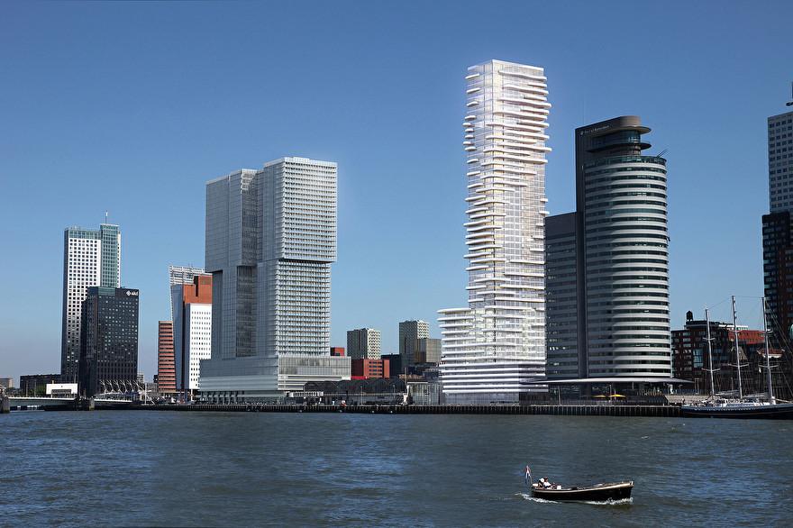 Toekomst van de skyline van Rotterdam: Baltimore