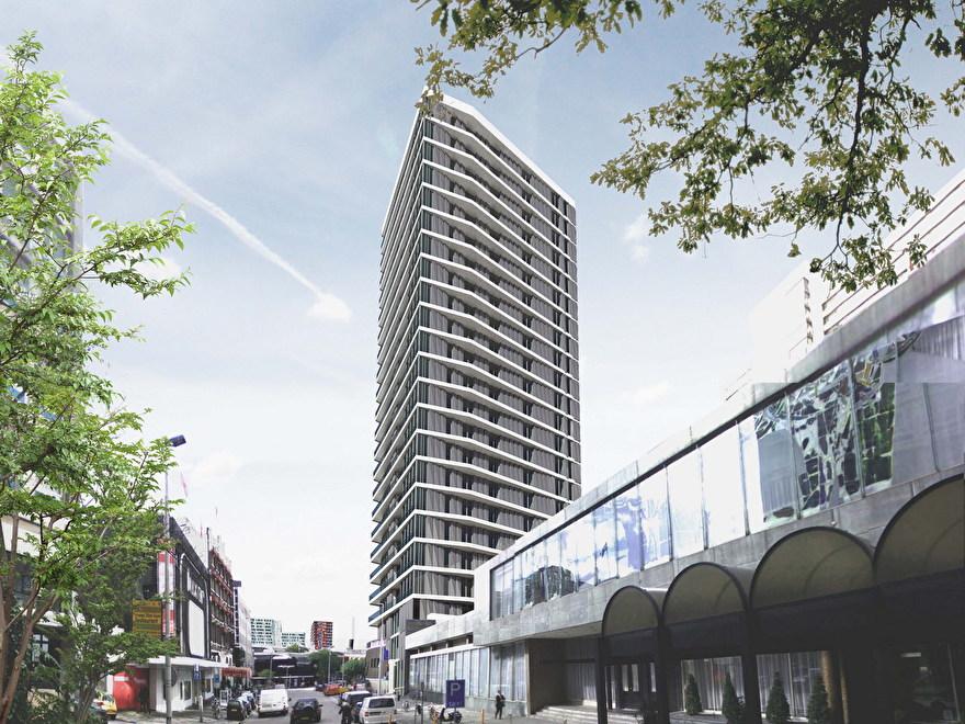 Toekomst van de skyline van Rotterdam: Metropool