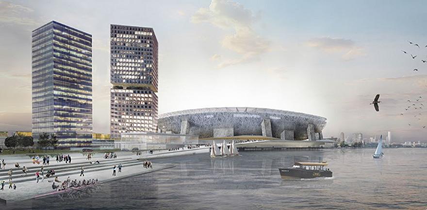 Nieuwe Kuip Rotterdam plannen Rem Koolhaas OMA