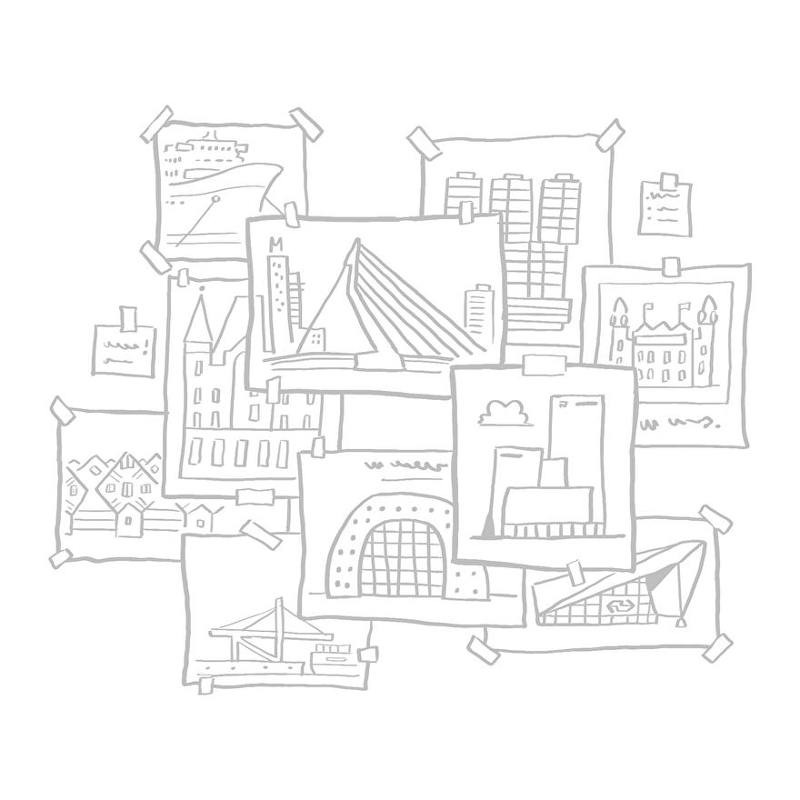 Schilderij van Rotterdam op maat laten maken voor in huis of kantoor