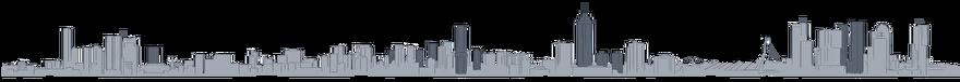 Tekening Toekomst van de skyline van Rotterdam