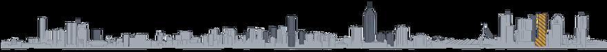 Tekening Toekomst van de skyline van Rotterdam: Peter Stuyvesant Building