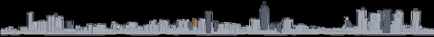 Tekening Toekomst van de skyline van Rotterdam: Up:Town