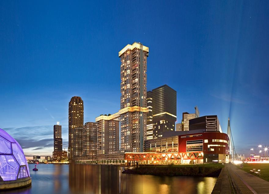 Toekomst van de skyline van Rotterdam: The Sax
