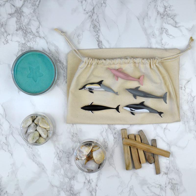 klei kit dolfijnen
