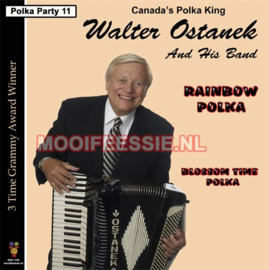 "7"" Polka Party 11 : Walter Ostanek – Rainbow Polka / Blossom Time Polka (2021)"