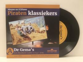 "7"" Gema's - Een Muzikant / Ik Kom Uut Veen ♪"