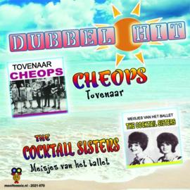 7″ Cheops – Tovenaar / The Cocktail Sisters – Meisje van het ballet * DUBBEL HIT* 2021 ♪