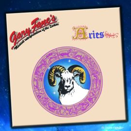 7″ Gary Fane - Aries (Single versie + Lp versie) - 2021 ♪