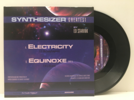 """7"""" Ed Starink - Electricity (Instrumental) / Equinoxe (Part 5) (2020)"""