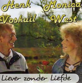 """7"""" Henk Voskuil & Monica West - Liever Zonder Liefde  2020 ♪"""