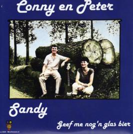 7″- Conny & Peter – Sandy / Geef Me Nog'n Glas Bier - 2020 ♪