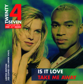 7″ Twenty 4 Seven - Is It Love / Take Me Away GROEN VINYL - 2021