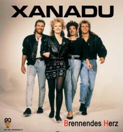 """7"""" Xanadu – Brennendes Herz / Ein tag Eine Nacht Eine Stunde (2021) ♪"""