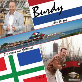 7″ Burdy – Als Ik Zeg / De Vissers Van Zoltkamp *Blauw Vinyl* Deel 7 - 2021