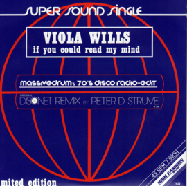 """7"""" Viola Wills - If You Could Read My Mind *Remix* (2019) ♪"""
