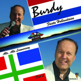 7″ Burdy – Fiësta Hollandaisa / Allo Allo Lauwersoog– Geel Vinyl – Deel 5 - 2021