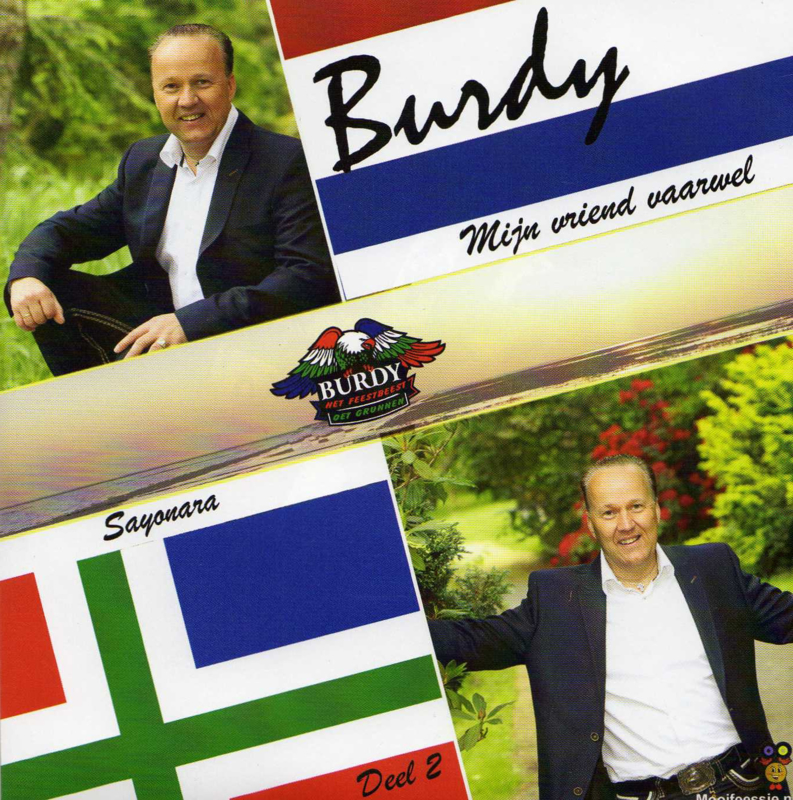 7″ Burdy – Mijn Vriend Vaarwel / Sayonara – Deel 2 - 2021