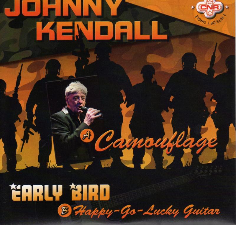 "7"" Johnny Kendall - Camouflage (Groen Transparant Vinyl) (2019) ♪"