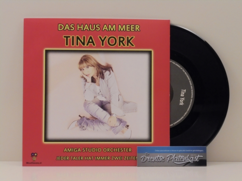 "7"" Tina York - Das Haus Am Meer / Amiga Orchestra (2019) ♪"