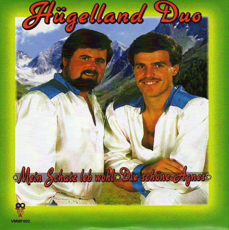 """7"""" Hügelland Duo - Mein Schatz Leb Wohl / Die Schöne Agnes (2019) ♪"""