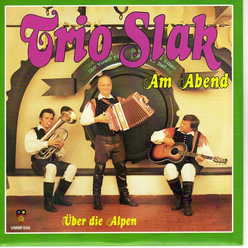 """7"""" Trio Slak - Am Abend / Uber Die Alpen (2020) ♪"""