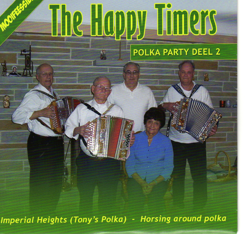 """7"""" Polka Party 2 : Happy Timers - Imperial Heights (2008)"""