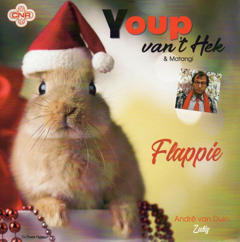 """7"""" Youp van 't Hek - Flappie / André van Duin - Zalig *ROOD VINYL* ♪"""