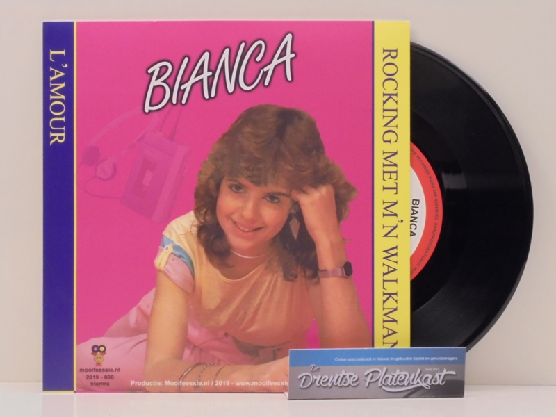 "7"" Bianca - Rocking Met M'n Walkman / L'Amour  2019 ♪"