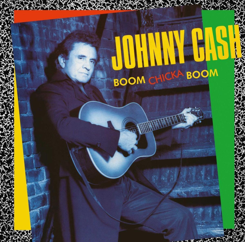 """12"""" Lp Johnny Cash - Boom Chicka Boom (Cats In The Cradle) (2020)  ♪"""