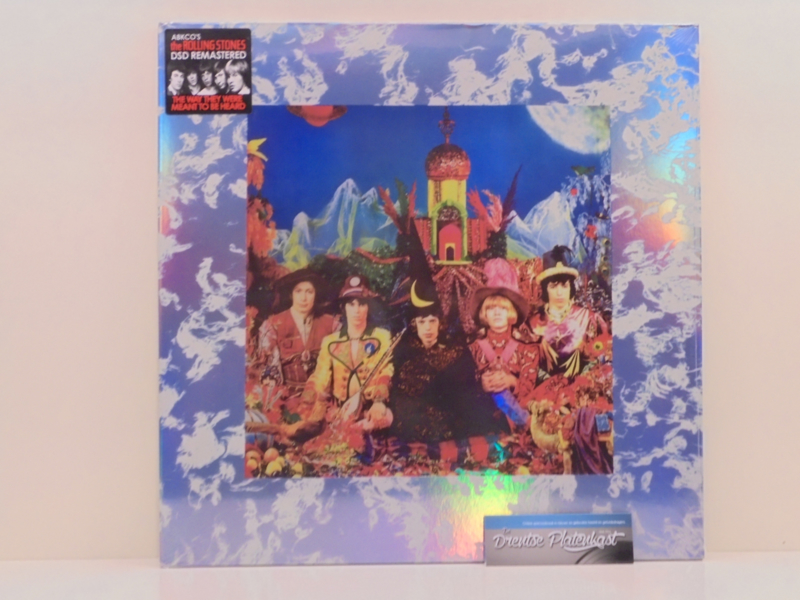 "12"" Rolling Stones - Their Satanic Majesties Request  ♪"