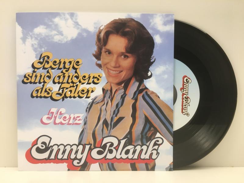 """7"""" Enny Blank - Berge Sind Anders Als Fäler  2012 ♪"""