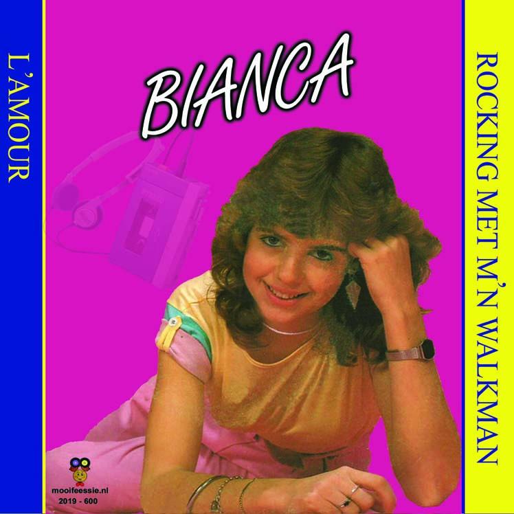 """7"""" Bianca - Rocking Met M'n Walkman / L'Amour  2019 ♪"""