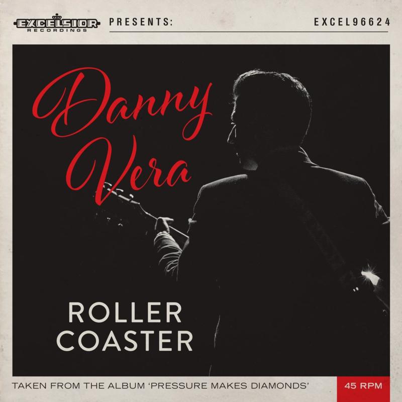 """7"""" Danny Vera - Roller Coaster (ROOD VINYL LIMITED) ♪"""