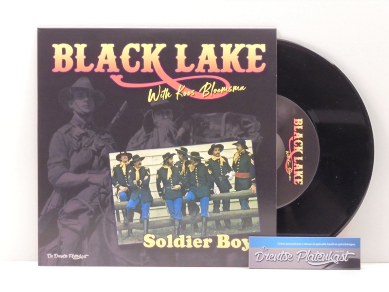 "7"" Black Lake - Soldier Boy / Maywood - 'T Was In De Winter (2019) ♪"
