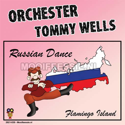 """7"""" Orchester Tommy Wells – Russian Dance / Flamingo Island  (2021) ♪"""