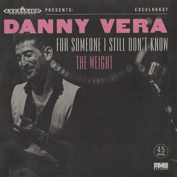 "7"" Danny Vera - For Someone I Still Don't Know PINK VINYL (2021) ♪"