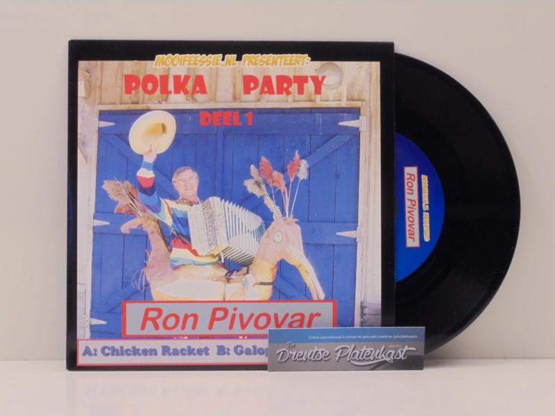 "7"" Polka Party 1 : Ron Pivovar - Chicken Racket (2008) ♪"