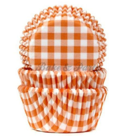 House Of Marie - Gingham Orange
