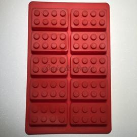 """Siliconen Mal """"Lego Stenen"""" (3)"""