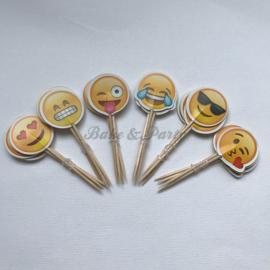 "Cupcake Toppers ""Emoji"""