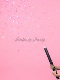 "Confetti Kanon XL ""Gender Reveal"" Roze"